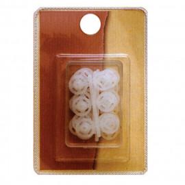 15 boutons pression nylon 15mm