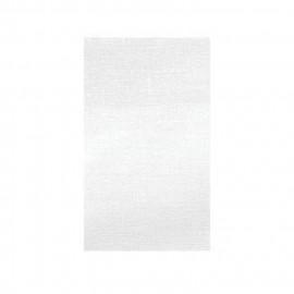 Toile thermocollante blanche 100% coton 12x21cm