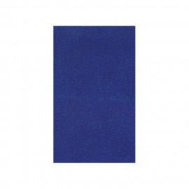 Toile thermocollante bleu roy 100% coton 12x21cm