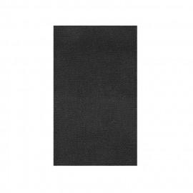 Toile thermocollante noire 100% coton 12x21cm