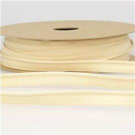 Bobine 25m Dépassant coton organique Ecru 9 mm
