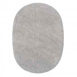 Renfort coude ou genoux gris imitation daim à coudre