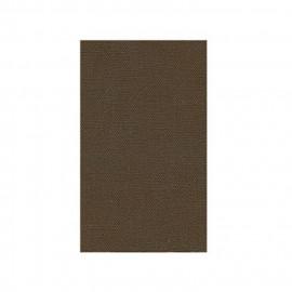 Toile thermocollante marron 100% coton 12x21cm