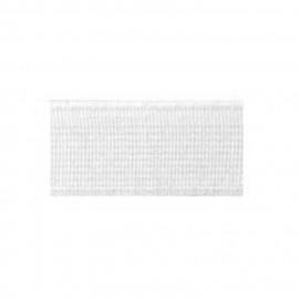 Elastique cotelé fort 15mm blanc