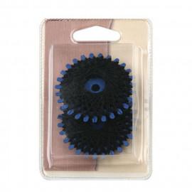 2 rondelles de fils polyester résistant noir 20m