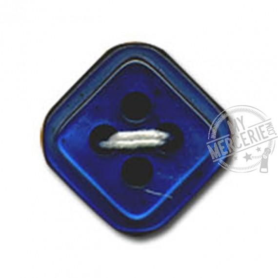 Bouton carré à 4 trous couleur Bleu nuit