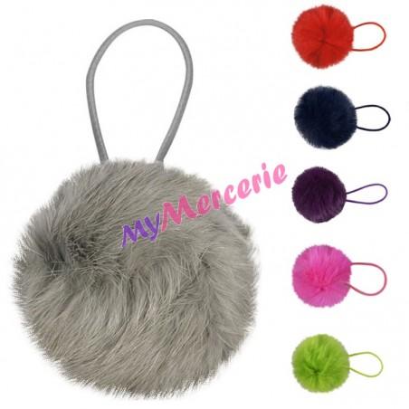 Petit Pompon fourrure lapin