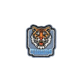 Ecusson thermocollant Jean tigre 5cm