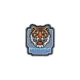 Ecusson thermocollant Jean tigre 5cm