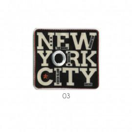 Ecusson thermocollant New York City