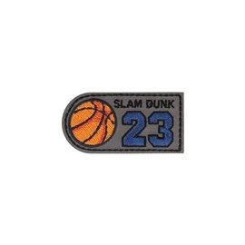 Ecusson thermocollant slam dunk 23 3x6cm