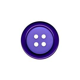 Bouton clown 2 éléments 4trous 48mm Violet/Lilas