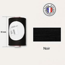 Bobine de fil noir polyester 1000m