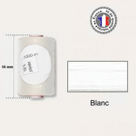 Bobine de fil blanc polyester 1000m