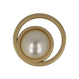 Bouton perles couleur vieil or