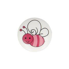 Lot de 6 boutons culot abeille 15mm