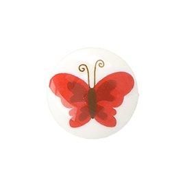Lot de 6 boutons culot papillon