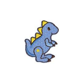 Lot de 3 écussons thermocollants jouet dinosaure 3x4cm