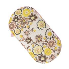 Pochette couture 15,5cm x 8cm fleurs