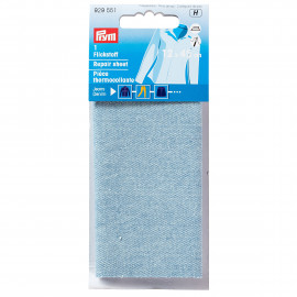 PRYM Pièce thermocollante coton 12x45 cm bleu clair