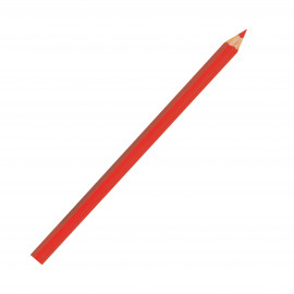 BOHIN Crayon craie pointe large rouge