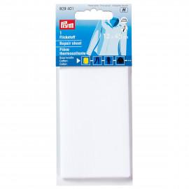 PRYM Pièce thermocollante coton 12x45 cm blanc