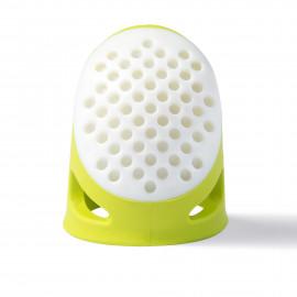 Dé à coudre Prym L ergonomique vert citron