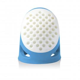 Dé à coudre Prym XL ergonomique bleu