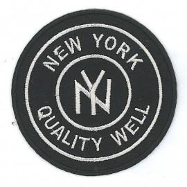 Écusson thermocollant New York Noir