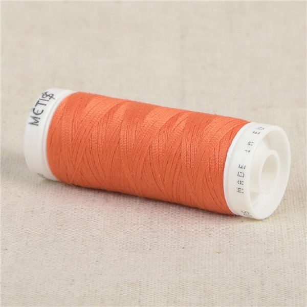 Bobine fil polyester 200m Oeko Tex fabriqué en Europe orange