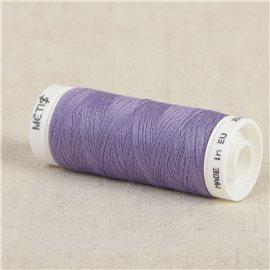 Bobine fil polyester 200m Oeko Tex fabriqué en Europe voilet lavande