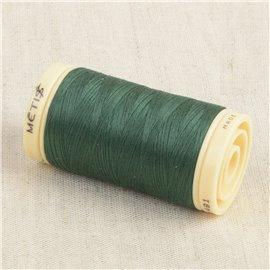 Bobine de fil Coton Pima Oeko Tex 600m vert éternité
