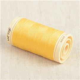 Bobine de fil Coton Pima Oeko Tex 600m jaune spectre