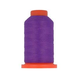 Bobine fil mousse polyester 1000m fabriqué en France pour surjeteuse Violet