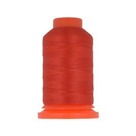 Bobine fil mousse polyester 1000m fabriqué en France pour surjeteuse Rouge