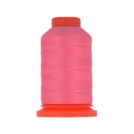 Bobine fil mousse polyester 1000m fabriqué en France pour surjeteuse Fuschia