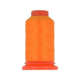 Bobine fil mousse polyester 1000m fabriqué en France pour surjeteuse Orange