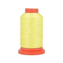 Bobine fil mousse polyester 1000m fabriqué en France pour surjeteuse Poivre vert