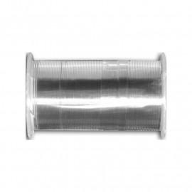 Bobine de fil laiton 10m 100% cuivre Argent C110