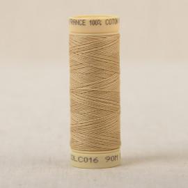 Bobine fil coton 90m fabriqué en France - Jaune mais C16