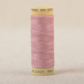 Bobine fil coton 90m fabriqué en France - Lilas C31