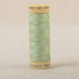 Bobine fil coton 90m fabriqué en France - Vert clair C41