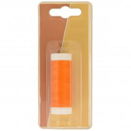 Bobine fil à coudre Polyester 100m made in France - Orange C179