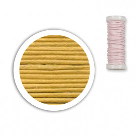 Bobine de fil coton 8,5m - Jaune C1