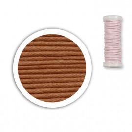 Bobine de fil coton 8,5m - Caramel C11