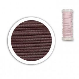 Bobine de fil coton 8,5m - Marron C12