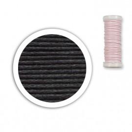 Bobine de fil coton 8,5m - Noir C14