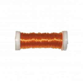 Bobine Fil élastique 15m en nylon - Jaune C079