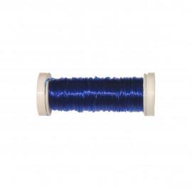 Bobine Fil élastique 15m en nylon - Bleu roy C023