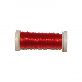 Bobine Fil élastique 15m en nylon - Orange C083